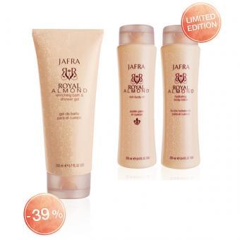 JAFRA Royal Almond Body Set
