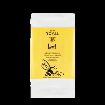 JAFRA ROYAL Boost 2-in-1 Reinigungstücher