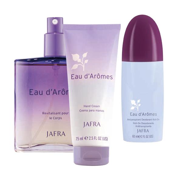 JAFRA Eau d`Arômes Set