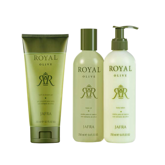JAFRA Royal Olive Body Set